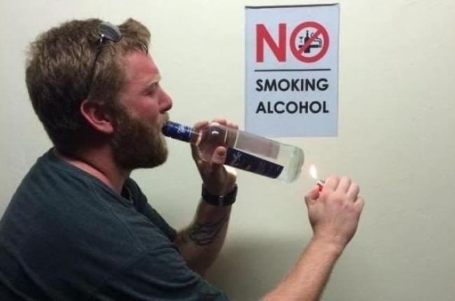 Rökning och alkohol förbjudet? Inga problem!